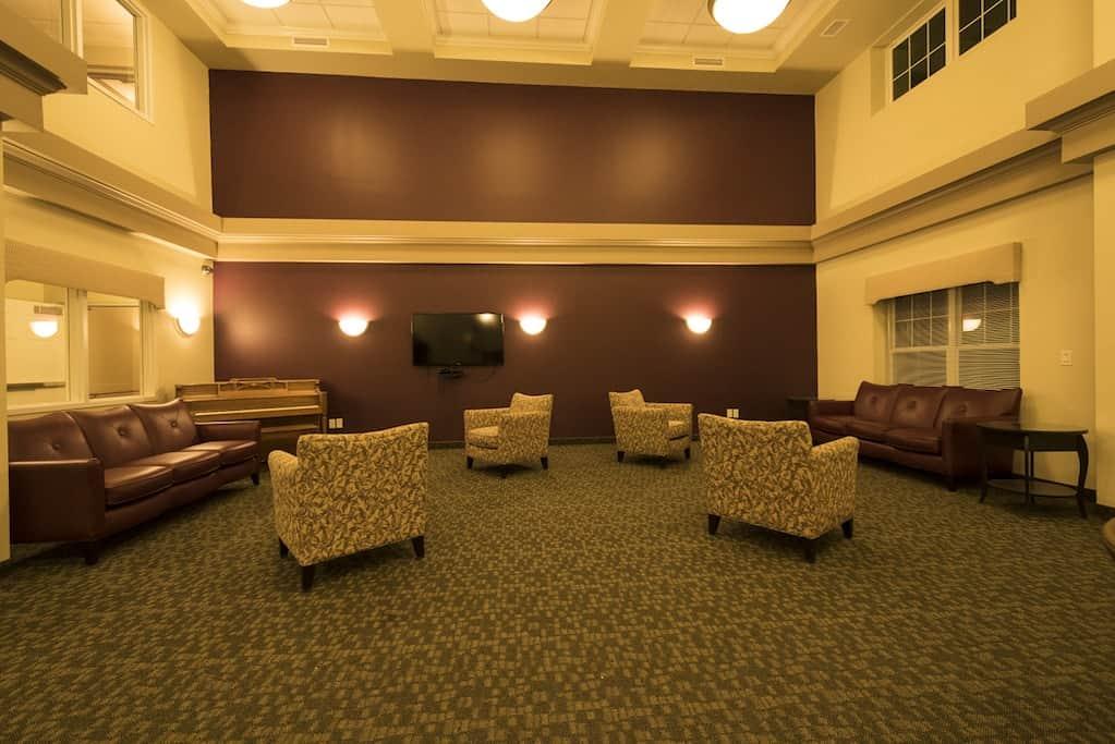 Rockwood Center lobby