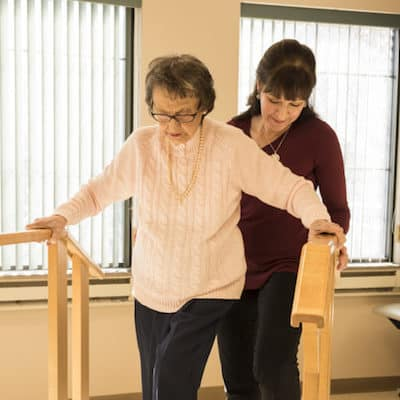 Senior rehabilitation with ESLC