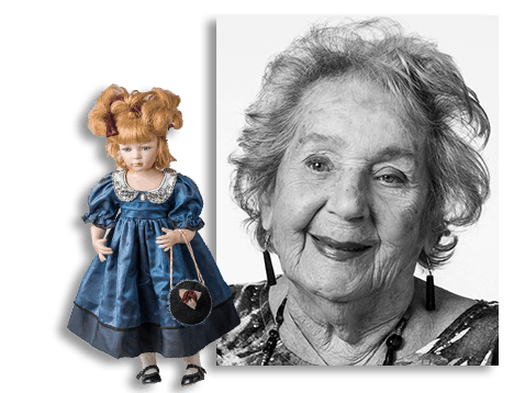 resident and doll